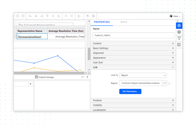 Create beautiful interactive reports