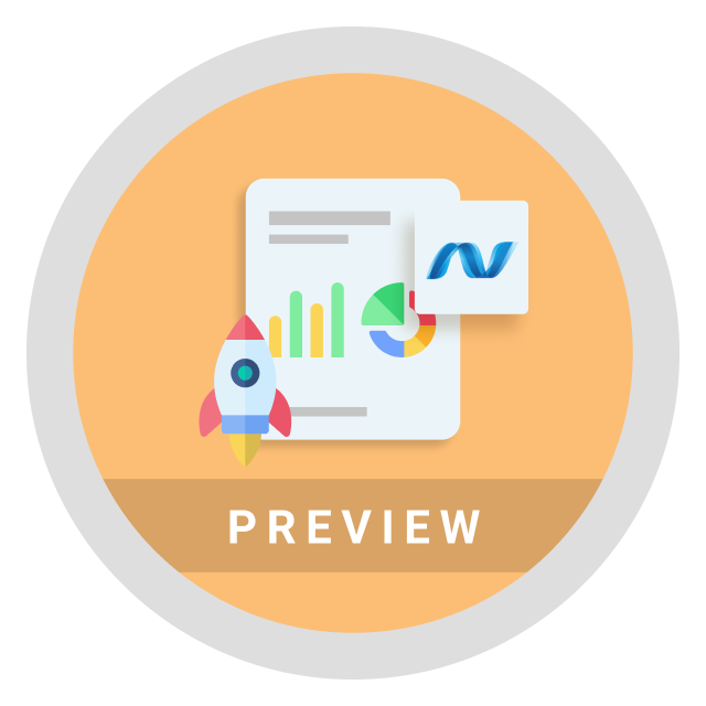 ASP.NET MVC Report Viewer preview launched