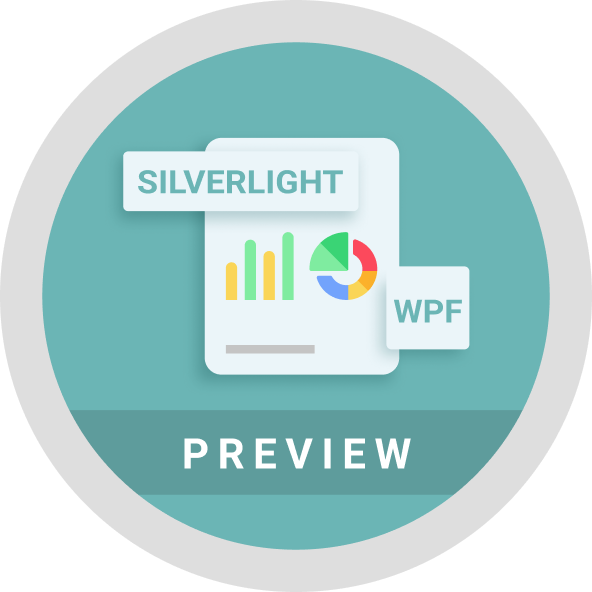 Report Viewer preview introduced for WPF and Silverlight in Essential Studio Reporting Edition